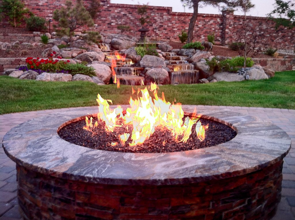 Custom Fire Pits Denver| Fire Pit Design | A Perfect Landscape--Denver, CO - Custom Fire Pits DenverFire Pit Design A Perfect Landscape